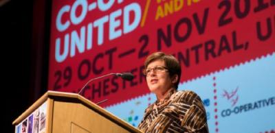 Dame Pauline Green addresses Co-operatives United