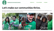 Starbucks Community Programme