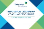 Reputation leadership coaching programme: Details of a new course to help leaders build their reputation